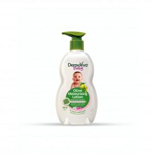 Лосьйон Dabur Dermoviva з Оливковою олією для дітей зволожуючий 200 мл (D11462)