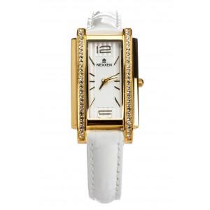 Женские часы Nexxen-12502CL GP/SIL/WHT Белый