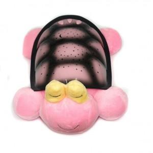Музыкальный ночник-проектор Snail Twilight с USB-кабелем Розовый (TN015)