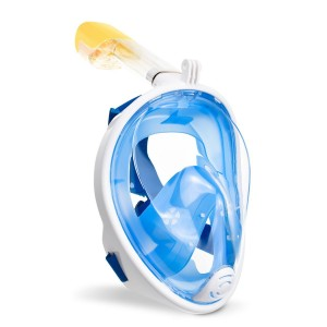 Полнолицевая панорамная маска Free Breath S/M Blue (0802)