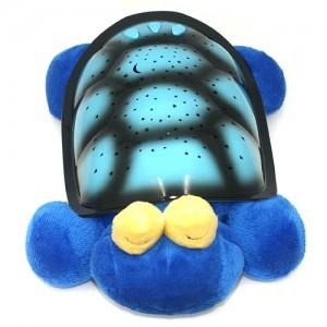 Музыкальный ночник-проектор Snail Twilight с USB-кабелем Голубой (TN016)