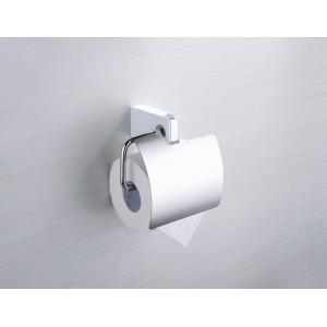 Держатель для туалетной бумаги с крышкой Yacore Fab ABS белый (F3111WC)