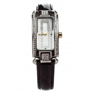 Женские часы Nexxen-12501CL 2T/SIL/BLK Черный