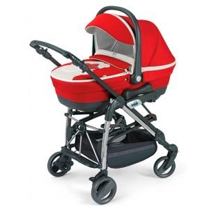 Универсальная коляска CAM Minu Teddy 3 в 1 Красный (319589350)