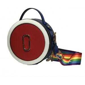 Женская сумка Appi круглая Разноцветная (17096-2)
