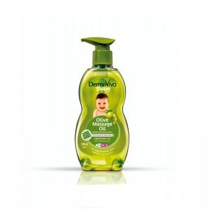 Олія для масажу Dabur Dermoviva з Оливковою олією для дітей 200 мл (D11455)