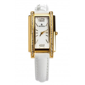 Женские часы Nexxen-12503CL GP/SIL/WHT Белый
