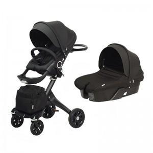 Универсальная коляска DSLAND Xplory V6 all black Черный (V62222017B)