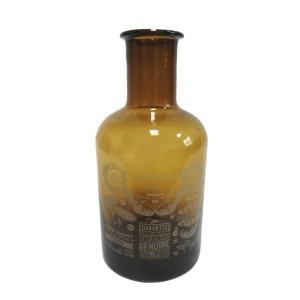 Бутылка декоративная PTMD 4 x 17 x 8 см Желто-черный (655545)