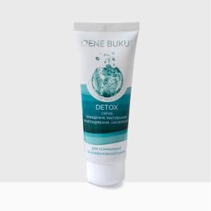 DETOX-скраб Irene Bukur для нормальной и комбинированной кожи 75 мл (4820179661323)