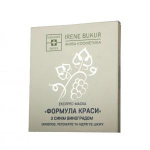 Экспресс-маска Irene Bukur Формула красоты с синим виноградом 20 г (4820179660401)