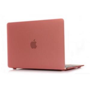 Пластиковый чехол Grand для MacBook 12-inch Retina Розовый (AL341-12New)