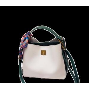 Женская сумка Appi Бело-зеленая (JY8290-2)