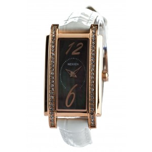 Женские часы Nexxen-12502CL RG/BLK/WHT Белый