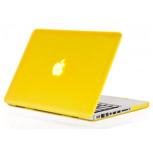 Пластиковый чехол Grand для MacBook Air 11.6 Желтый (AL340_11air)