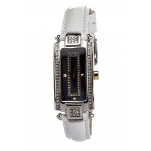 Женские часы Nexxen-12501CL 2T/BLK/WHT Белый