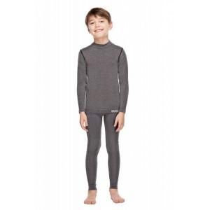 Детские термоштаны Haster Merino Wool 104/110 Серые