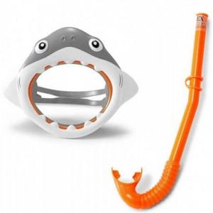 Набор для плавания Intex 55944 Акула гипоалергенный Серый (int55944)