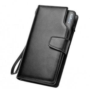 Мужской кошелек Baellerry S1063 Черный (sp4245)