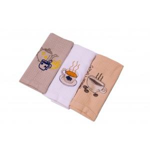 Набор полотенец для кухни Ayben 3 шт (NPK-01)
