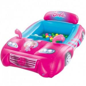Игровой центр Bestway 93207 + шарики 25 шт Машинка Розовый (int93207)