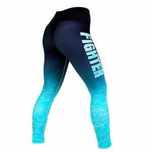 Штаны Fighter Gazelle XS Black Woman / Turquoise