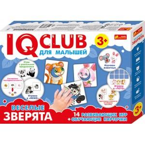 Учебные Головоломки Забавные зверьки IQ-club для малышей (288710)
