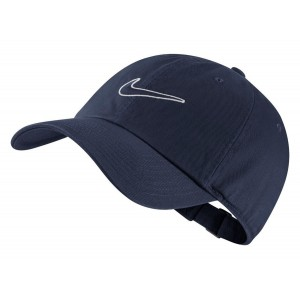 Кепка Nike U H86 Cap Essential Swoosh Темно-синий (943091-451)