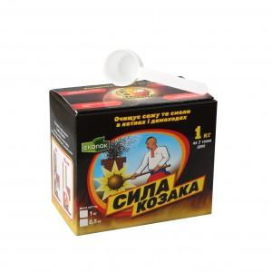 Средство для чистки дымоходов Сила Козака 1 кг (01)
