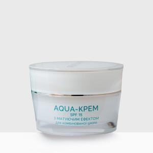 Aqua-крем Irene Bukur с матирующим эффектом SPF 15  45 мл (4820179661316)