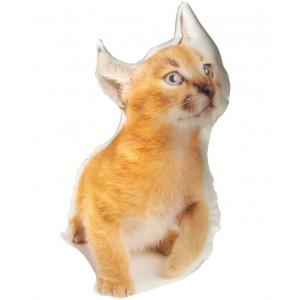 Подушка котенок Рыжик 28 х 50 см (98-972583)