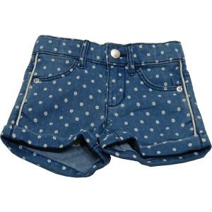Шорты United Colors Of Benetton джинсовые с цветочным принтом 90 см Синий (4SG7591O)