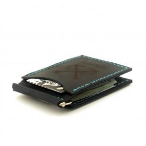 Зажим для Купюр Anchor Stuff с двумя отделениями для карт Темно-синий (as110203)