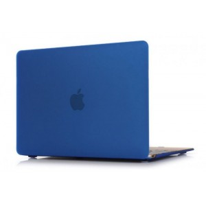 Пластиковый чехол Grand для MacBook 12-inch Retina Синий (AL567-12New)