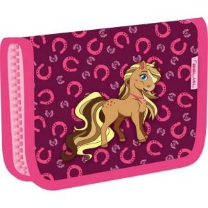 Пенал Belmil Anna Pet Pony Фиолетово-розовый