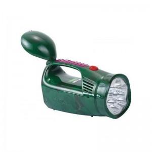 Фонарь светодиодный аккумуляторный Yajia YJ-2809 Зеленый (sp_1080)