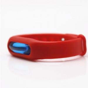 Силиконовый антимоскитный браслет KILNEX Красный (SUN0320)