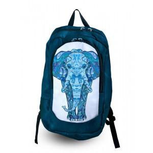 Рюкзак с фотопечатью Синий слон (168-1652601)