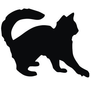 Интерьерная наклейка для мела Кот Обормот (188-1081720)
