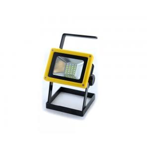 Фонарь-прожектор Bailong BL204 30W Черно-желтый (sp3828)