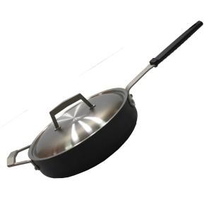 Сковорода с керамическим покрытием Moneta PRO 28 см Черная (330222)