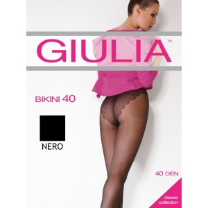 Колготки Giulia Bikini 40 ден 2 р Nero (1526473)