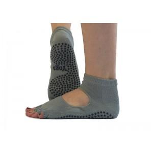 Носки для йоги нескользящие RAO Серые (hub_EpvV96360)