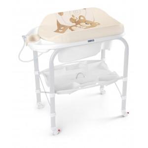 Пеленальный стол с ванночкой CAM Cambio Бежевый (451380279)