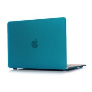 Пластиковый чехол Grand для MacBook 12-inch Retina Голубой (AL347-12New)