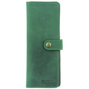 Чехол-книжка для визитных и кредитных карточек Valenta Зеленая (ОК-69 зеленая)