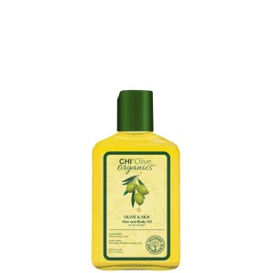 Шелковое масло с оливой CHI Olive Organics Olive & Silk Hair and Body Oil 237 мл