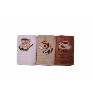 Набор полотенец для кухни Nilteks 3 шт (NPK-02)