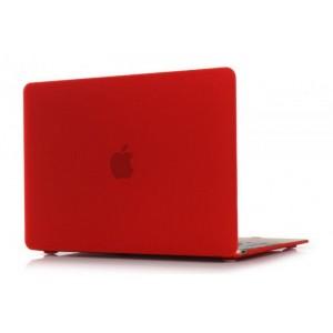 Пластиковый чехол Grand для MacBook 12-inch Retina Красный (AL569-12New)