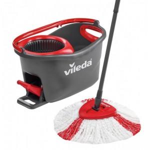 Комплект для уборки Vileda Easywring and Clean Set Серо-красный (4023103194113)